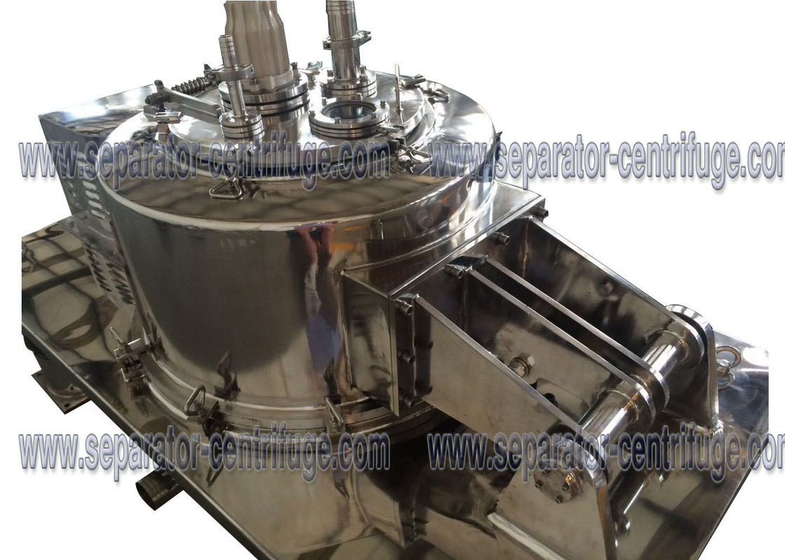Manual Top Discharge Clean Hemp Extraction Machine Full Cover Centrifuges Steel