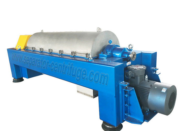 Industrial Decanter Separator Centrifuge Machine For Sludge Dewatering